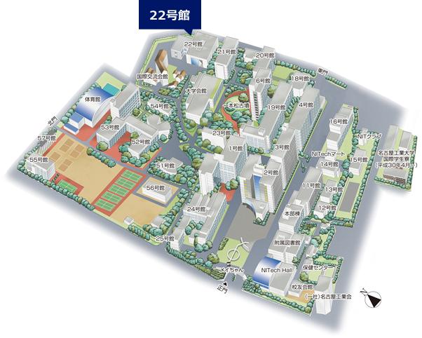 名古屋工業大学構内図